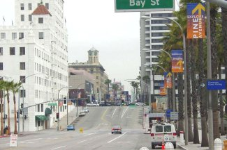 City of Long Beach, California, USA